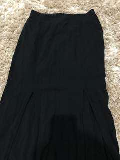 PRELOVED : Slit Skirt by Forever 21