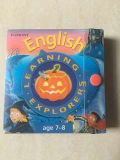 English Learning Explorers Cards for Key Stage 2 Age 7-8