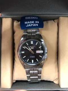 Seiko Series 5 Automatic Black Dial Watch