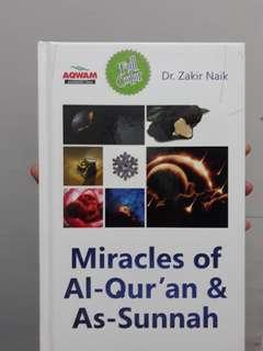 Miracle of Al-Qur'an & As Sunnah (Zakir Naik)