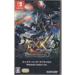 Monster Hunter Double Cross XX Switch game