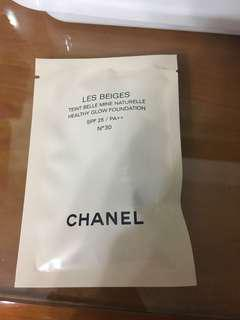 Chanel sample - Les Beiges Healthy Glow Foundation