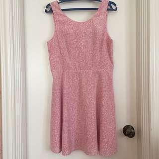 Forever 21 Pink Skater Dress