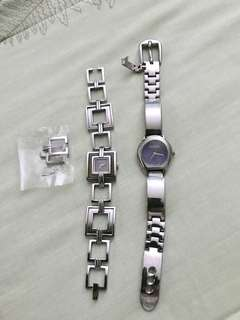 Buy 2! Kenneth Cole and Gucci silver watches