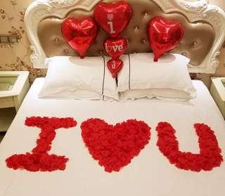 七夕 chinese valentine special rose petals propose