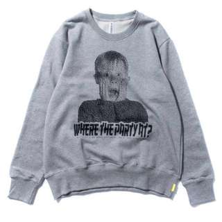 🚚 Demarcolab THE PARTY SWEATER (H.Grey) 小鬼當家