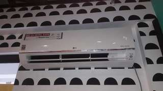 LG Premuim Dual Inverter Split type Aircon with installation