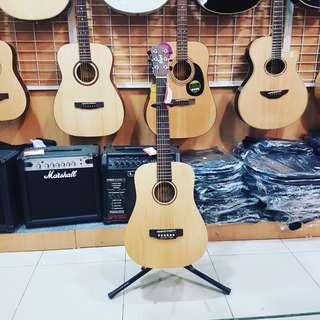 Gitar cort W/EQ Eart F Adirondak-OP Bisa Credit Promo Bunga 0% Dp0%