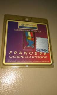 Collectible France 98' pin