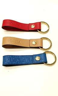 Bonia Leather Key Chain