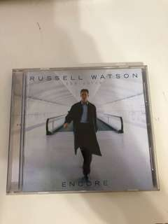 Russell Watson the voice encore 1 CD
