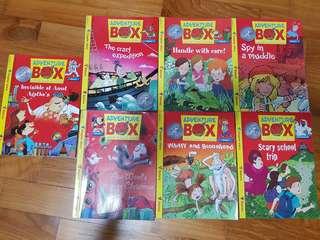 Adventure box magazines (7 books)