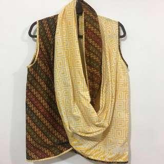 Twistes outer coklat kuning