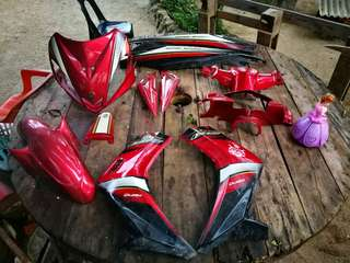 coverset 135lc first model v1 merah maroon hly
