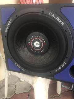 "Speaker Caliber 12"""