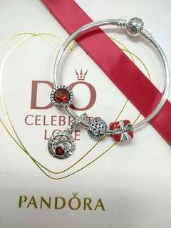 Pandora bracelets set