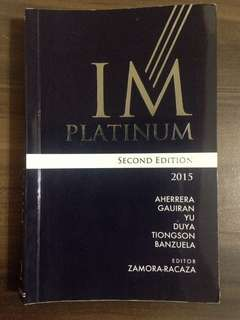 IM Platinum 2nd edition