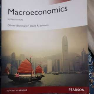 Macroeconomics 6th edition Pearson