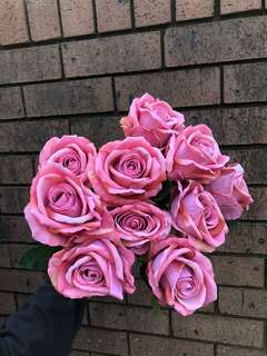 (SALE!) (PLEASE TAKE THEM) Deep Pink Roses