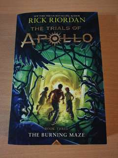 [Brand New] The Burning Maze (The Trials of Apollo Book 3)