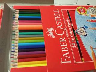Faber Castell 24 colours