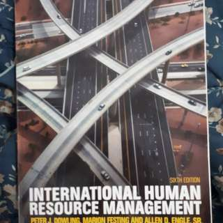 Internationl human resource management 6th edition