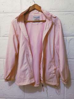 Baby Pink Windbreaker Jacket