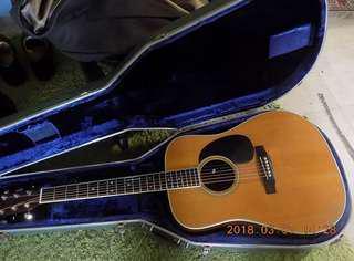 Martin 1974年制d-28 acoustic guitar