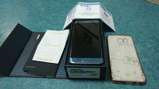 Mint Samsung S7 Edge coral blue