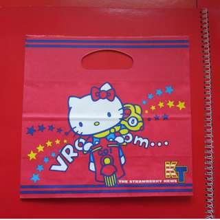 草莓新聞雜誌禮物 - Hellokitty 紙袋