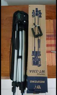 New Tripod Stand Aluminium Camera 330A Ready Stock