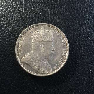 Straits Settlements 1904 dollar coin