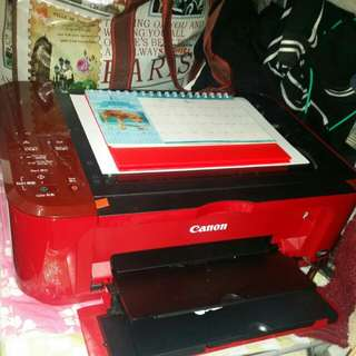打印機Canon printer mg3670連豪華供墨系統