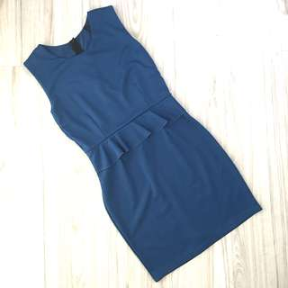 Sleeveless Office Attire Dress