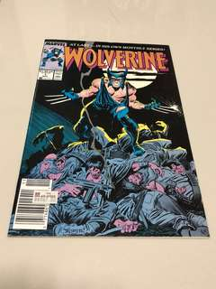 Retro Marvel comic Wolverine #1