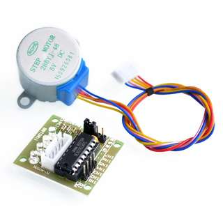 5V Stepper Motor+ Driver Board ULN2003 for Arduino