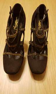 YSL Snakeskin Mary Jane Platforms 36 - never worn