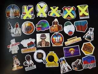 PUBG stickers