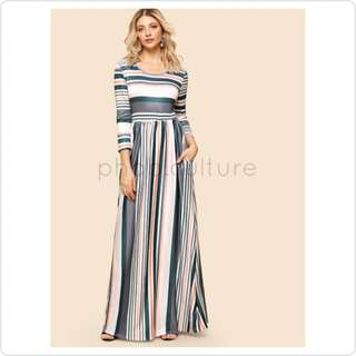 """""""The Claire"""" Maxi Dress"""