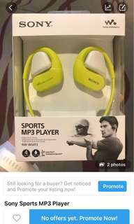 Sony Sports MP3 Player