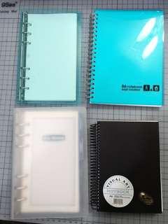 Notebook 4本B6 Size