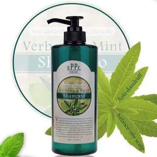 NPPE Verbena & Mint Shampoo (750ml)