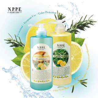 NPPE Rosemary & Lime Moist Up Shampoo & Conditioner (750ml)