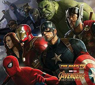 The Road To Avengers : Infinity War Art