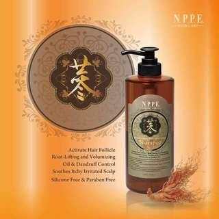 NPPE Red-Ginseng Hair Activating Shampoo (750ml)