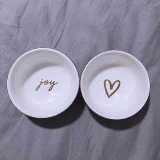 Kikki.K Porcelain Bowls 2PK