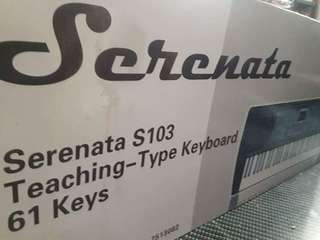 SERENATA S103 61 KEYS KEYBOARD PIANO