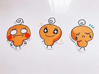 Tamagotchi Memetchi Stickers