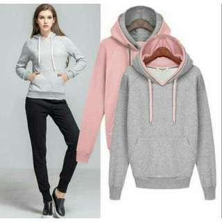 📚 SALE!! Unisex Korean Hoodie Jacket; Loose style fits up to Large frame