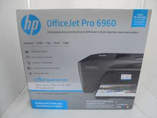 Preloved HP Officejet Pro 6960 w/Box, Cables & Adapters